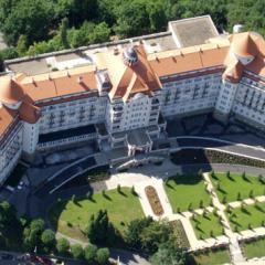 Hotel «Imperial» aus Vogelsicht